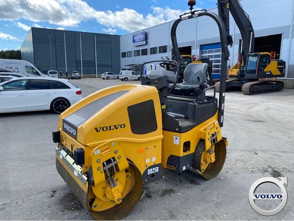 Volvo DD25B, Twin drum rollers, Construction Equipment