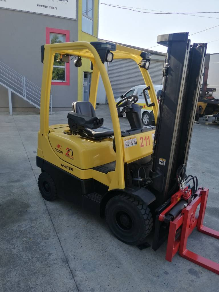 Hyster H 1.8 FT, Diesel counterbalance Forklifts, Material Handling