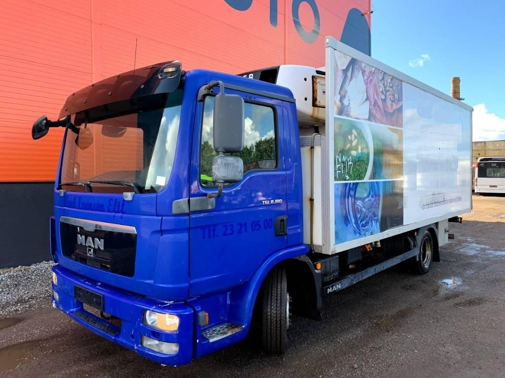 MAN TGL 8.180 Euro 5, Box trucks, Trucks and Trailers