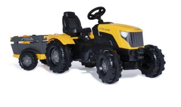 Stiga TRAPTRACTOR MINI-T 300 MET AANHANGER, Tractoren, Landbouw