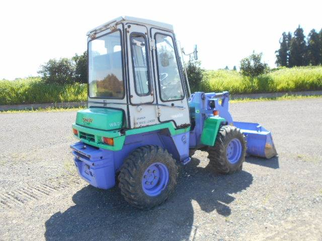 Komatsu WA30-5, Wheel loaders, Construction