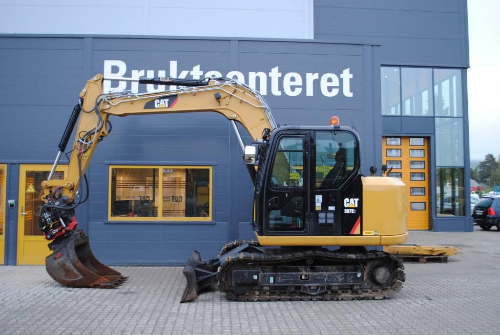 Caterpillar 307E, Midigraafmachines 7t - 12t, Bouw