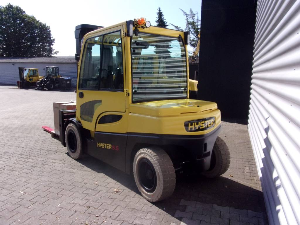 Hyster J5.5XN-6, Electric counterbalance Forklifts, Material Handling