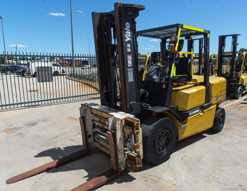 Yale GDP50MH, Diesel counterbalance Forklifts, Material Handling