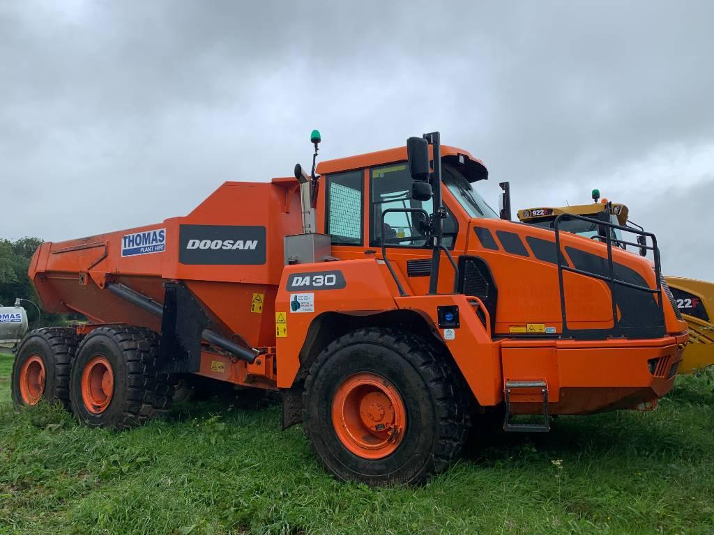 Doosan DA30, Articulated Dump Trucks (ADTs), Construction