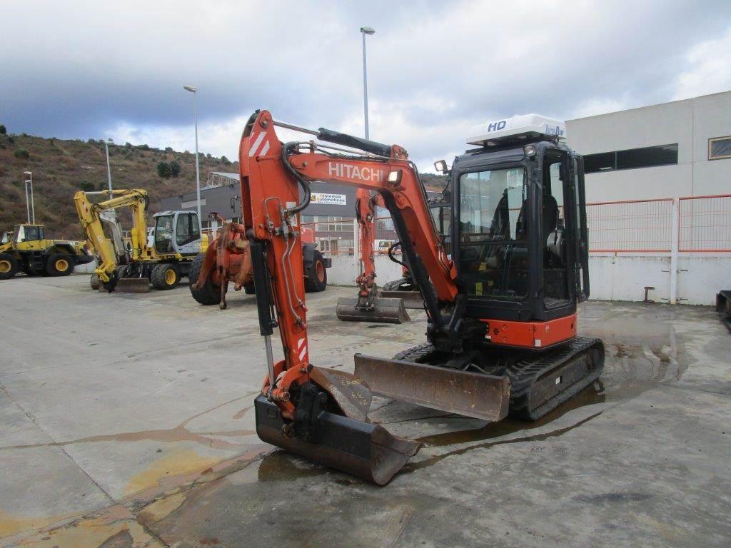 Hitachi ZX33U-3 CLR, Mini excavators < 7t, Construction Equipment