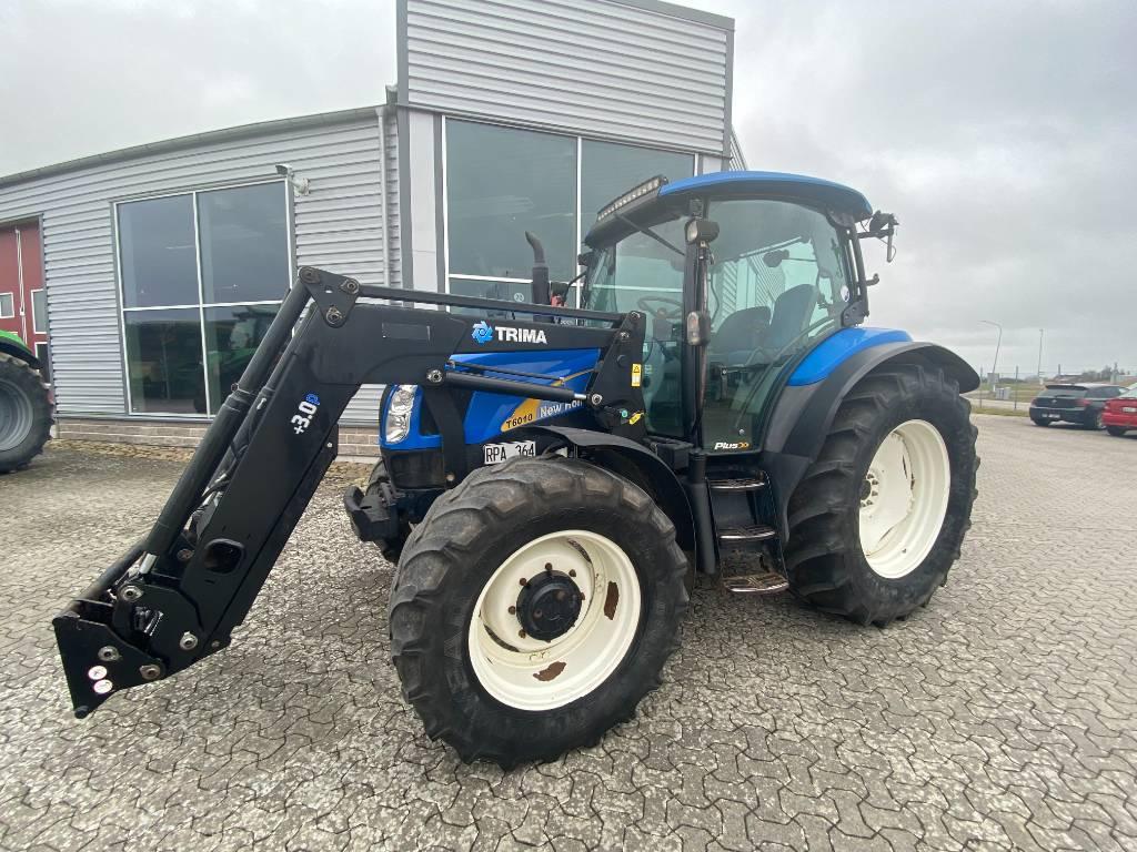 New Holland T6010 Plus, Traktorer, Lantbruk
