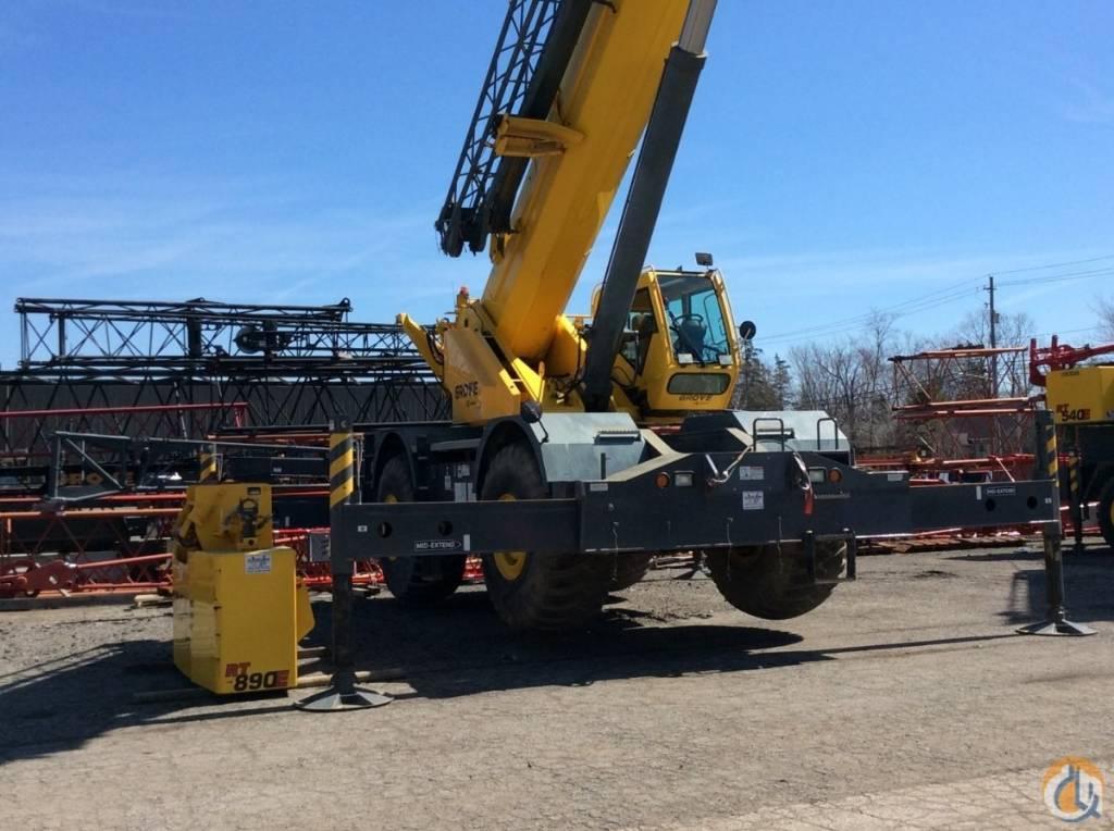 Grove RT 800 E, Crane Parts and Equipment, Construction Equipment