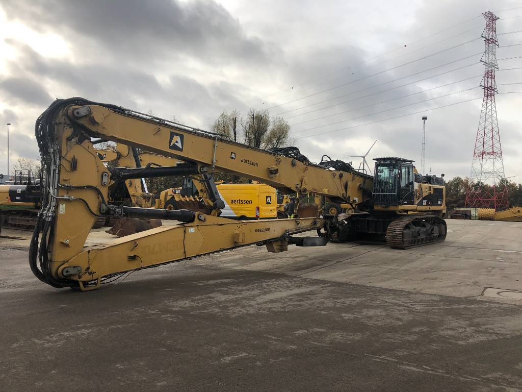 Caterpillar 345 D L UHD (26-29-31m), Demolition excavators, Construction
