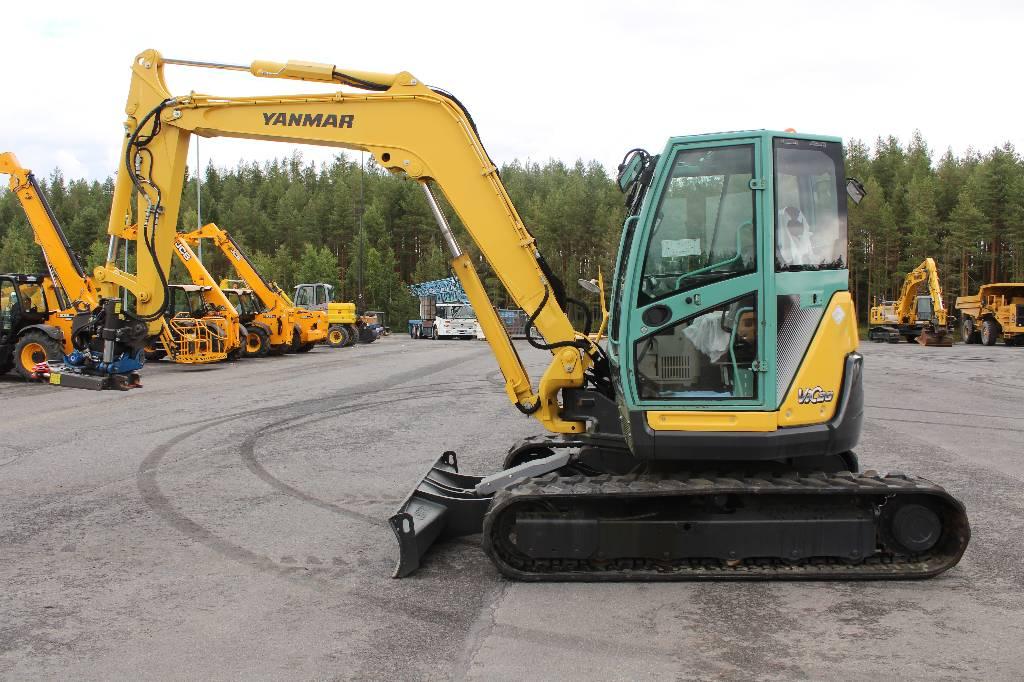 Midi excavators 7t - 12t - Construction equipment - Rinta-Jouppi Machine