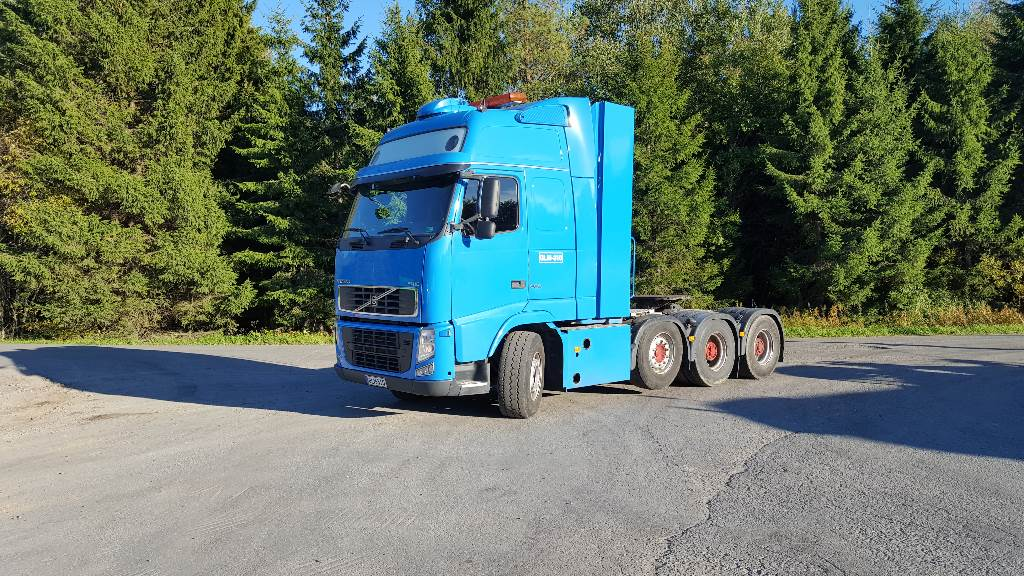 Volvo FH16 660, Vetopöytäautot, Kuljetuskalusto