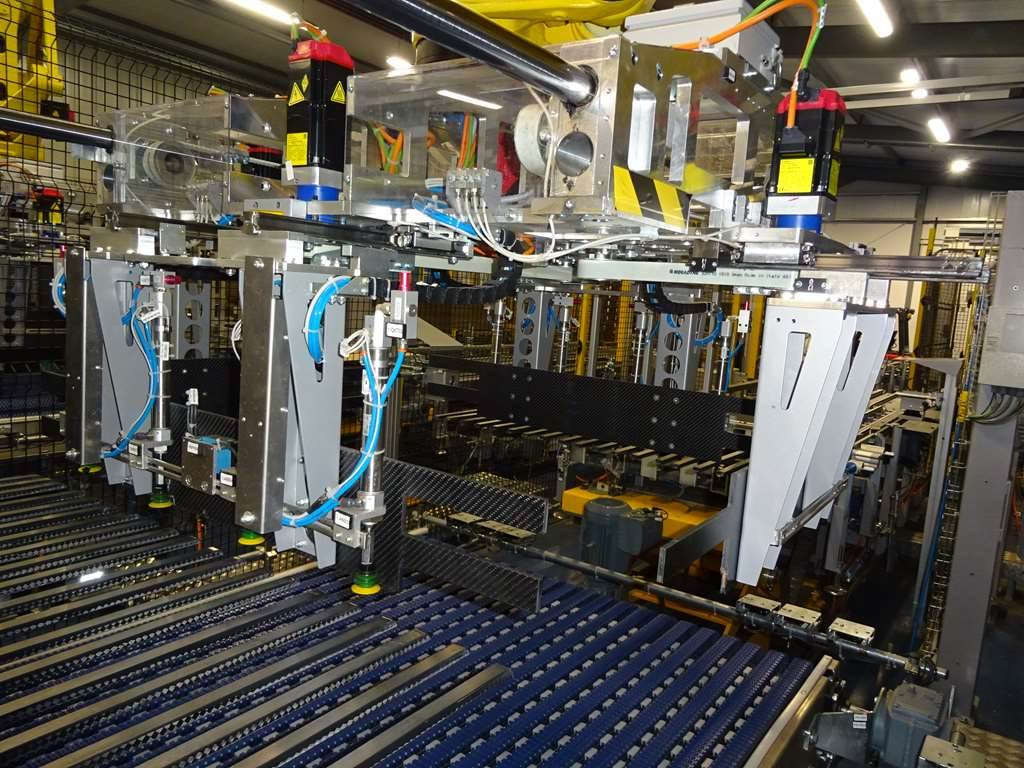 [Other] Elettric80 Robotic Palletizing Line, Beverages & Vegetable Oil, Extra