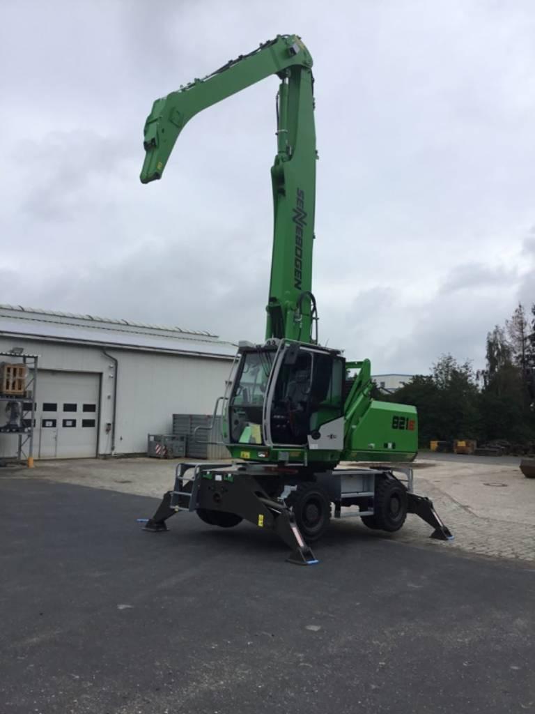 Sennebogen S 821 M-E, Waste / Industry Handlers, Construction Equipment
