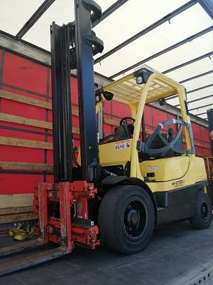 Hyster H 2.5 FT LPG, LPG counterbalance Forklifts, Material Handling