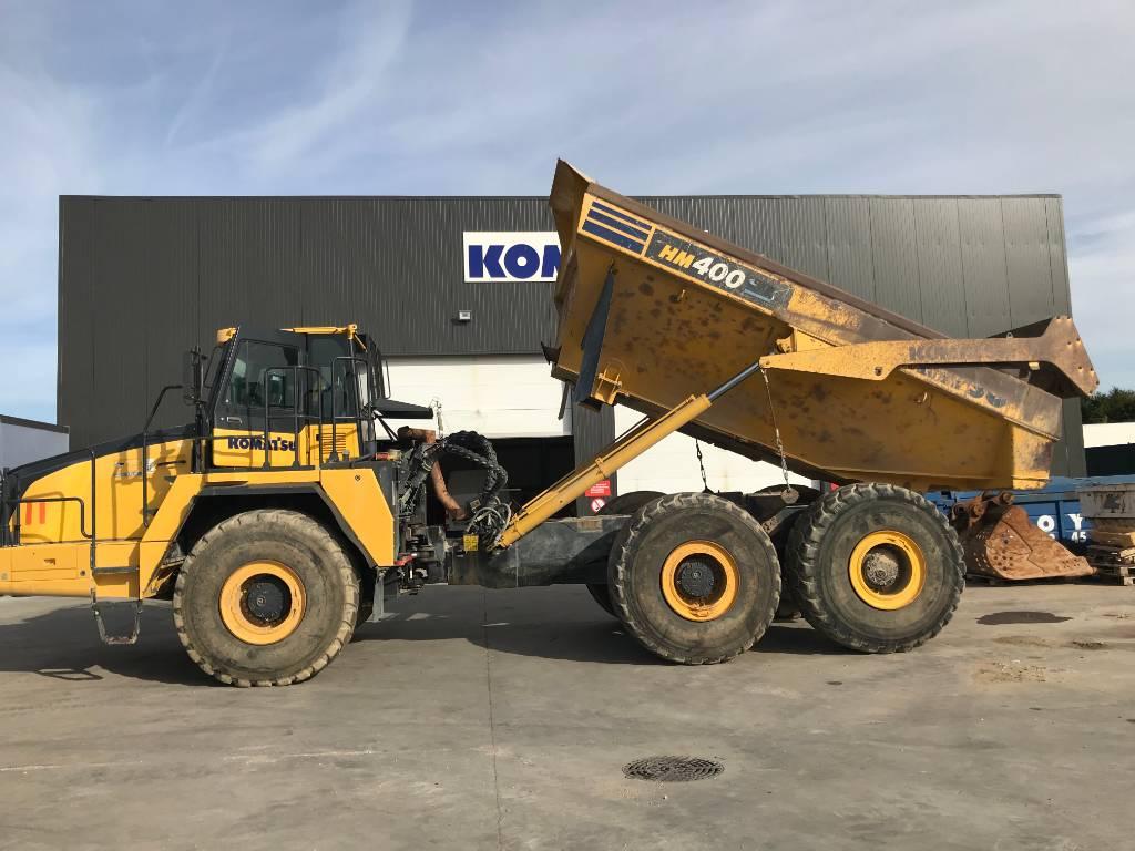 Komatsu HM400-3, Articulated dump trucks, Construction Equipment