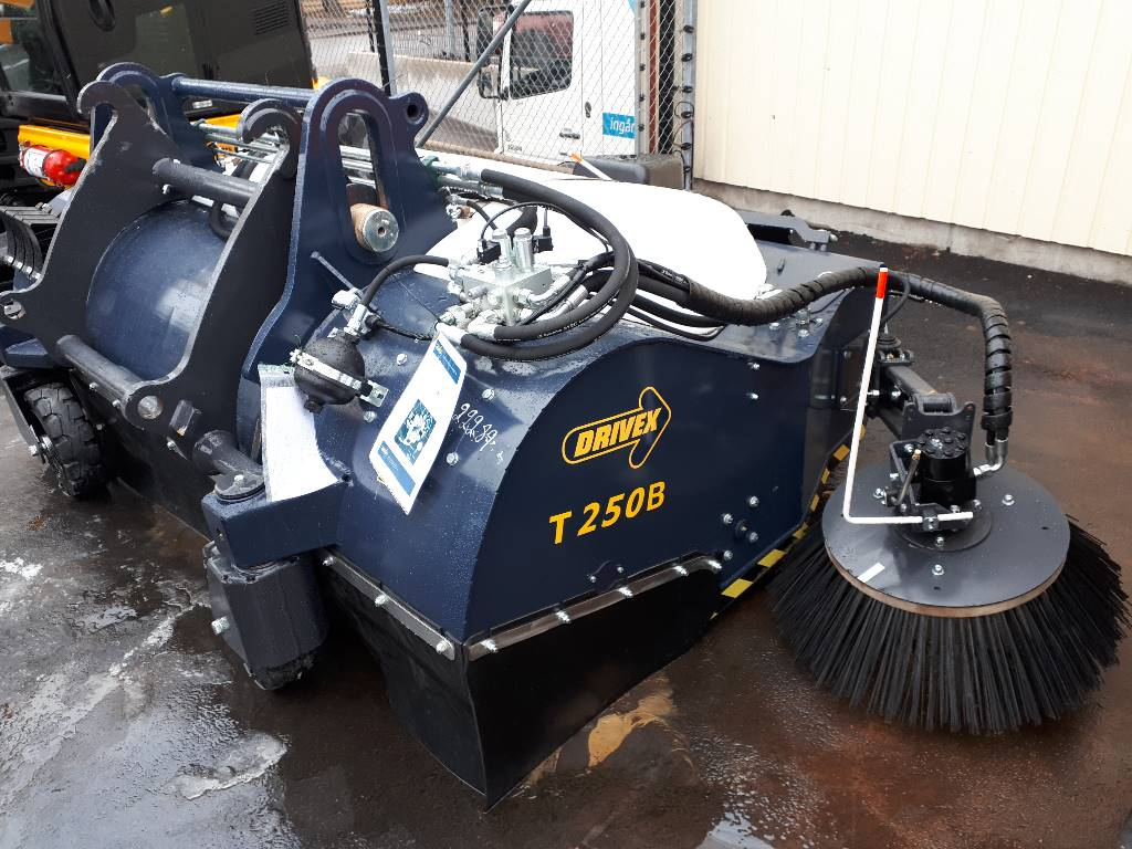 Drivex Frontsopmaskin  Omgående leverans T250B, Hjullastare, Entreprenad