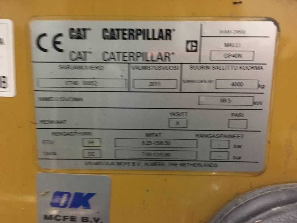 Caterpillar GP40N, Dieseltrukit, Materiaalinkäsittely