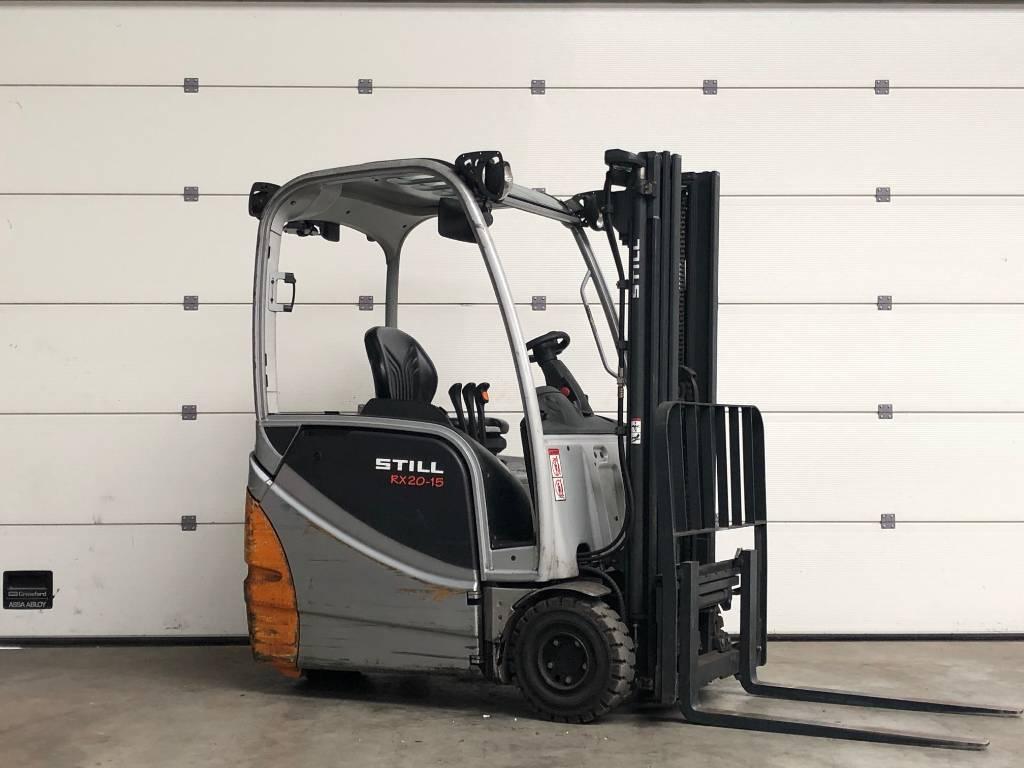 Still RX20-15, Elektrische heftrucks, Laden en lossen