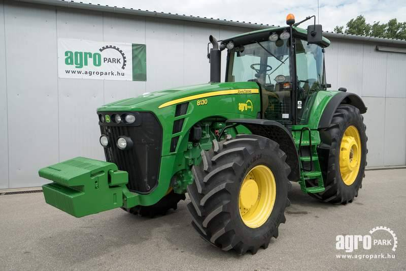 John Deere 8130 (6060 hours), 16 4 Powershift 40 km h