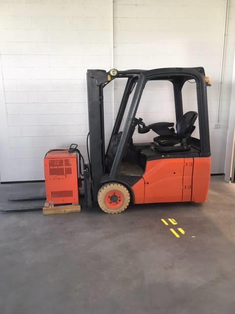 Linde E14/386, Electric forklift trucks, Material Handling