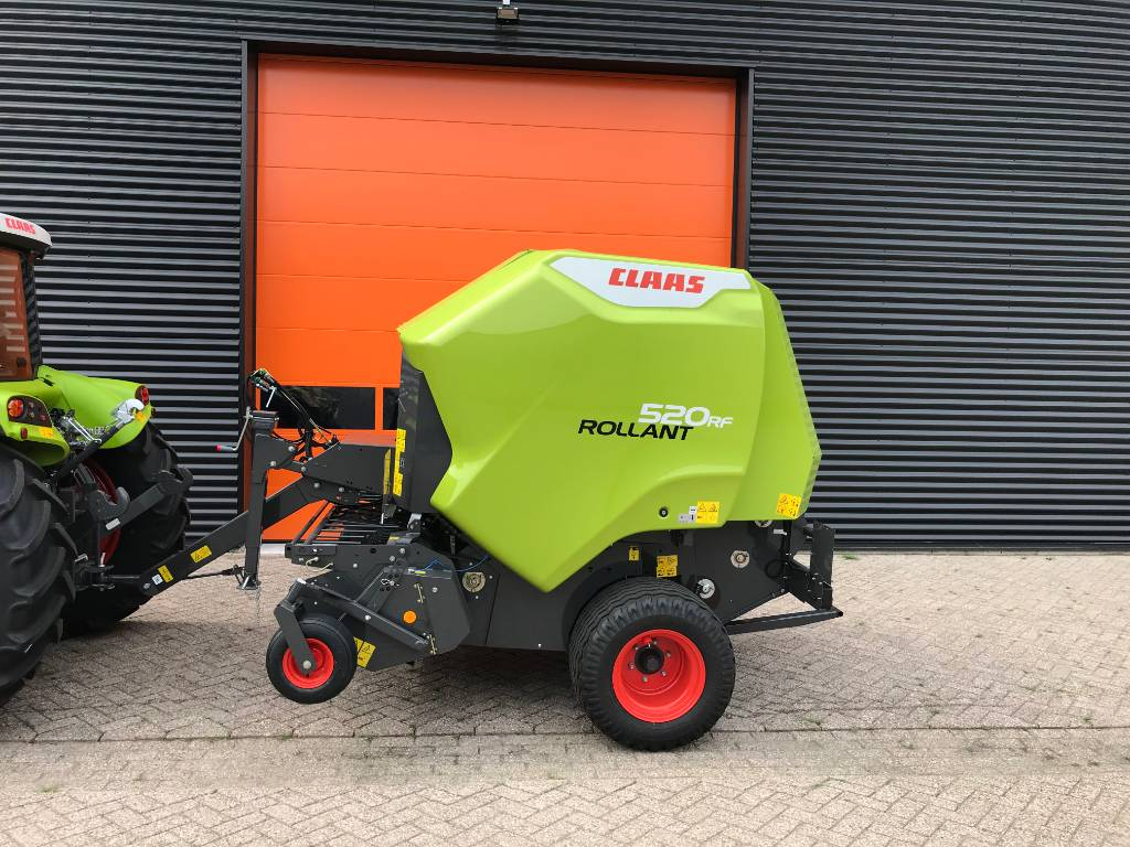 CLAAS ROLLANT 520 RF, Round Balers, Agriculture