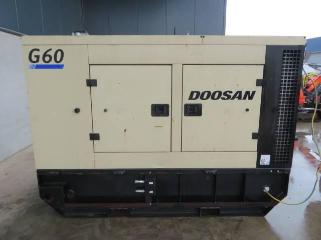 Doosan G60, Diesel generatoren, Bouw