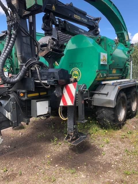 Jenz HEM 582 Z, Flishuggar, Skogsmaskiner