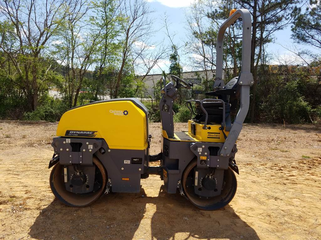 Dynapac 1200+T41, Twin drum rollers, Construction Equipment