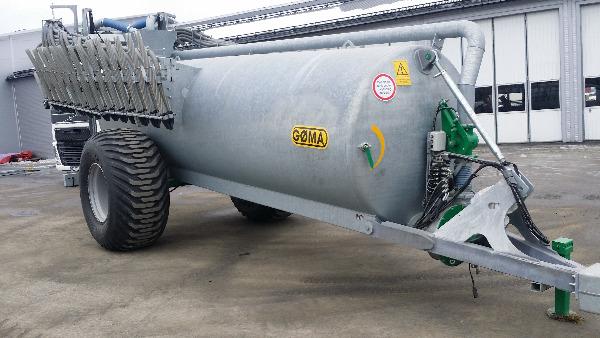 Gøma 12 000 liter, Gjødselspreder, Landbruk