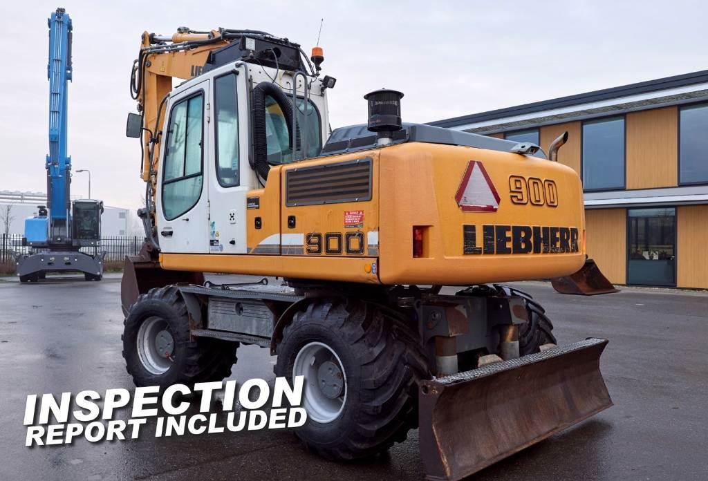 Liebherr A900 C, Wielgraafmachines, Bouw