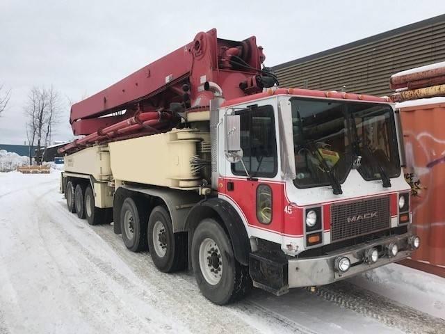 Putzmeister BSF 52.16H, Boom Pumps, Construction Equipment