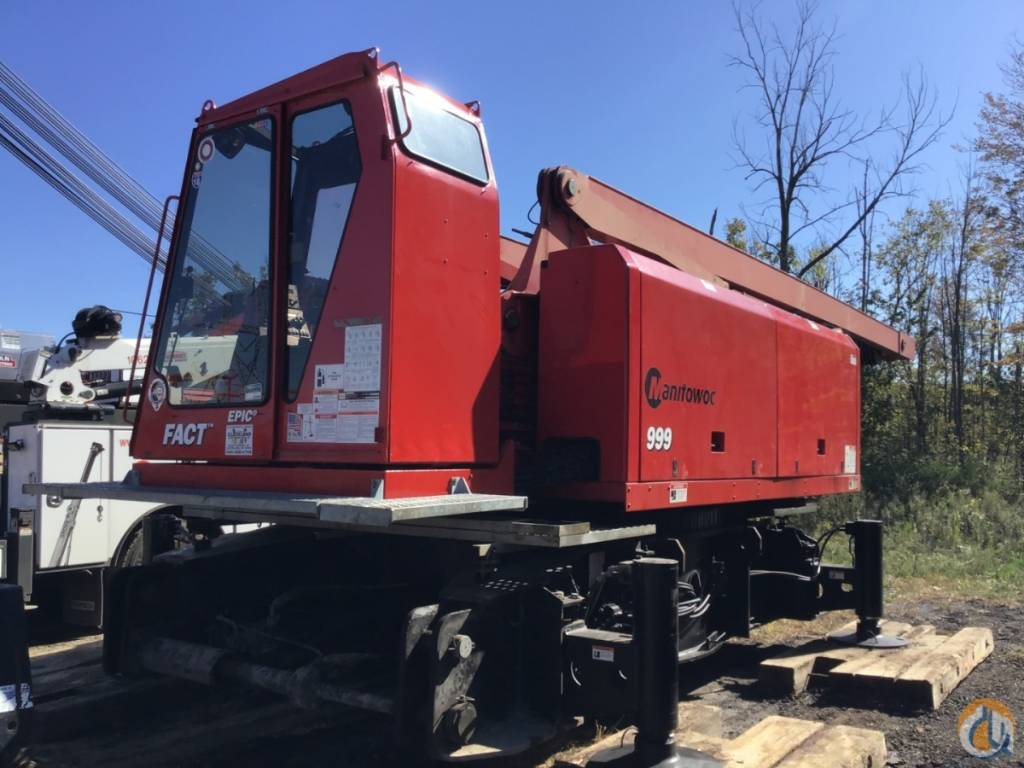 Manitowoc 999 S3, Crane Parts and Equipment, Construction Equipment