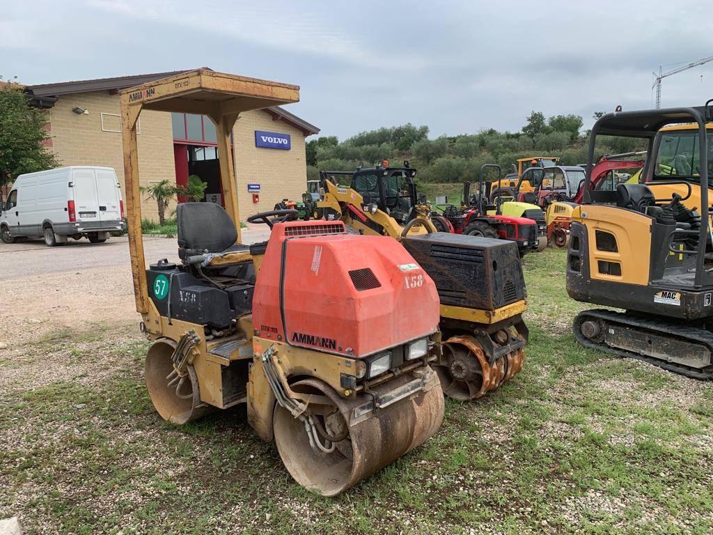 Ammann DTV 113, Twin drum rollers, Construction Equipment