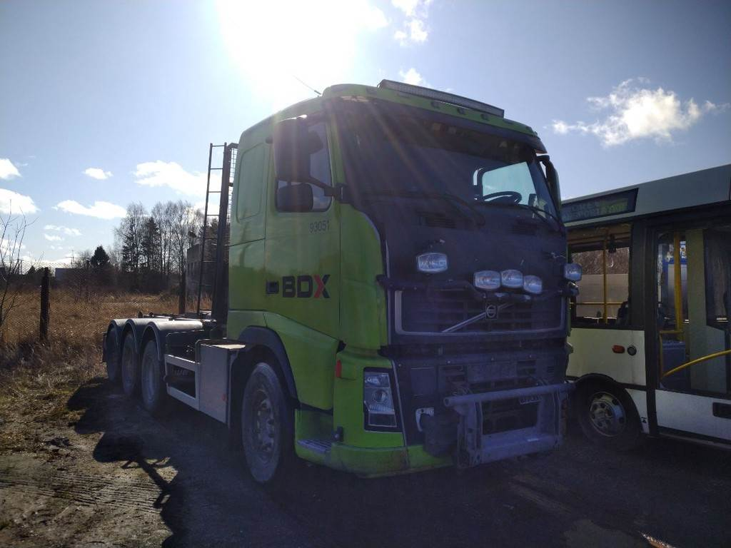 Volvo FH12 8X4 EURO3 FOR PARTS, Transport chassis and suspension, Trucks and Trailers
