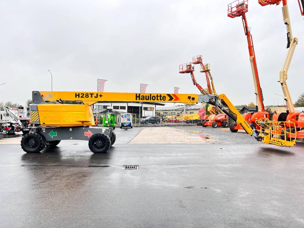 Haulotte H28TJ+ diesel 4x4 350kg 28m (1415), Teleskoparbeitsbühne, Baumaschinen