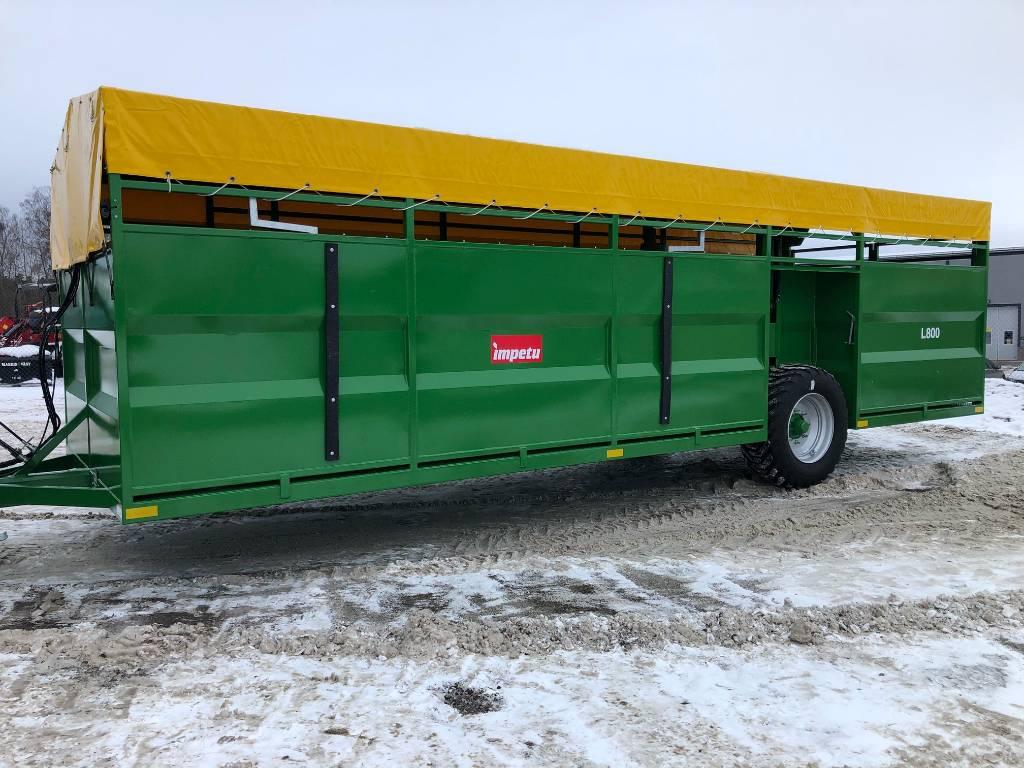 [Other] IMPETU DJURVAGN L 8250 INVÄNDIGA HJUL, Övriga vagnar, Lantbruk