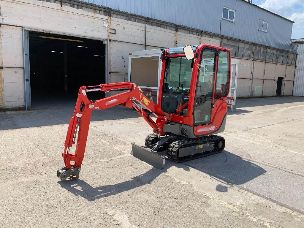 Yanmar SV16, Mini excavators < 7t (Mini diggers), Construction