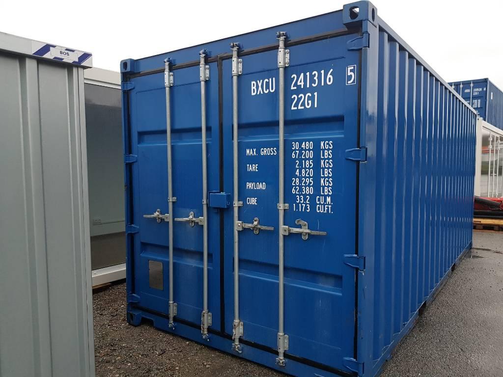 [Other] Sjöcontainer Isolerad 20 fot, Sjöcontainers, Transportfordon