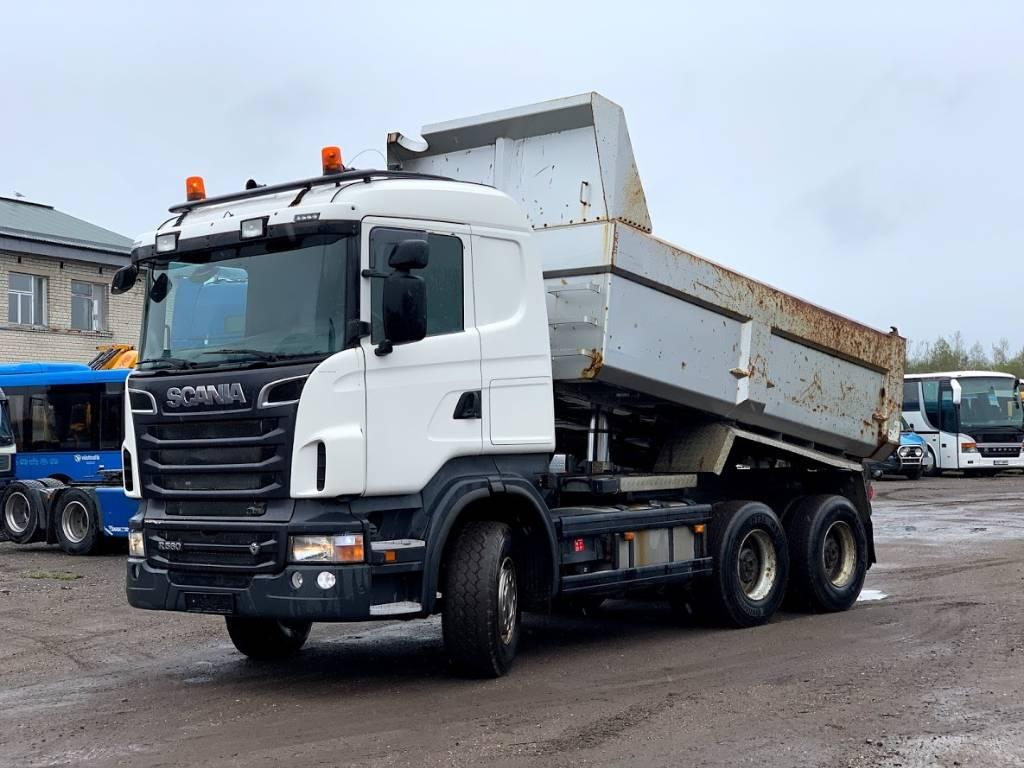 Scania R560 Full steel/Retarder/Big axels/Box heating, Kallurid, Transport