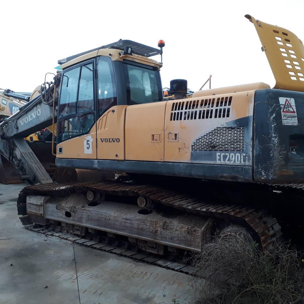 Volvo EC 290 C L, Crawler Excavators, Construction Equipment