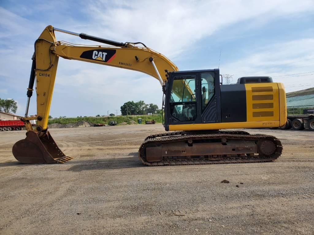 Caterpillar 320 EL, Crawler Excavators, Construction Equipment