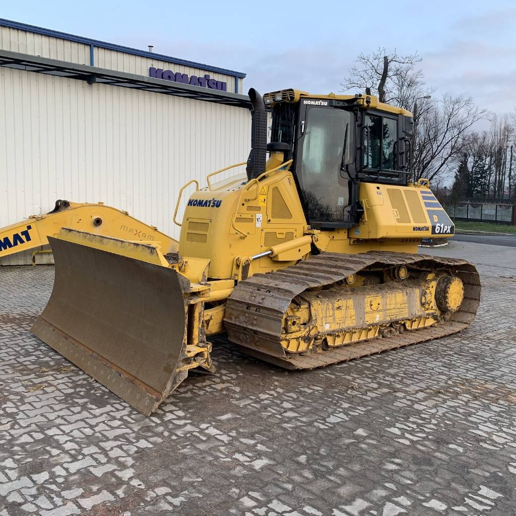 Komatsu D61PX-24, Crawler dozers, Construction Equipment
