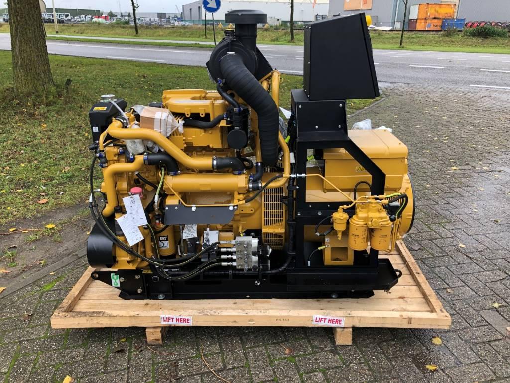 Caterpillar C 4.4 - Marine Generator Set - 116 kVa, Marine auxiliary engines, Construction