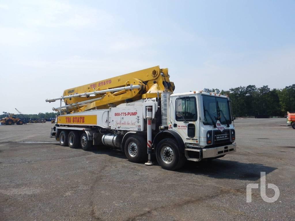 Concord 52M, Boom Pumps, Construction Equipment