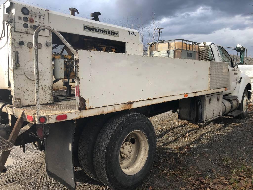Putzmeister VS50, Line Pumps, Construction Equipment