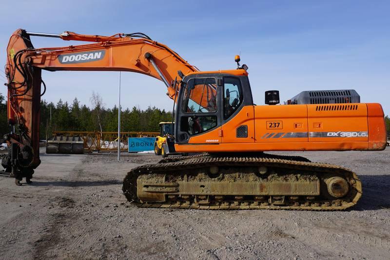 Doosan DX380LC, Crawler Excavators, Construction Equipment