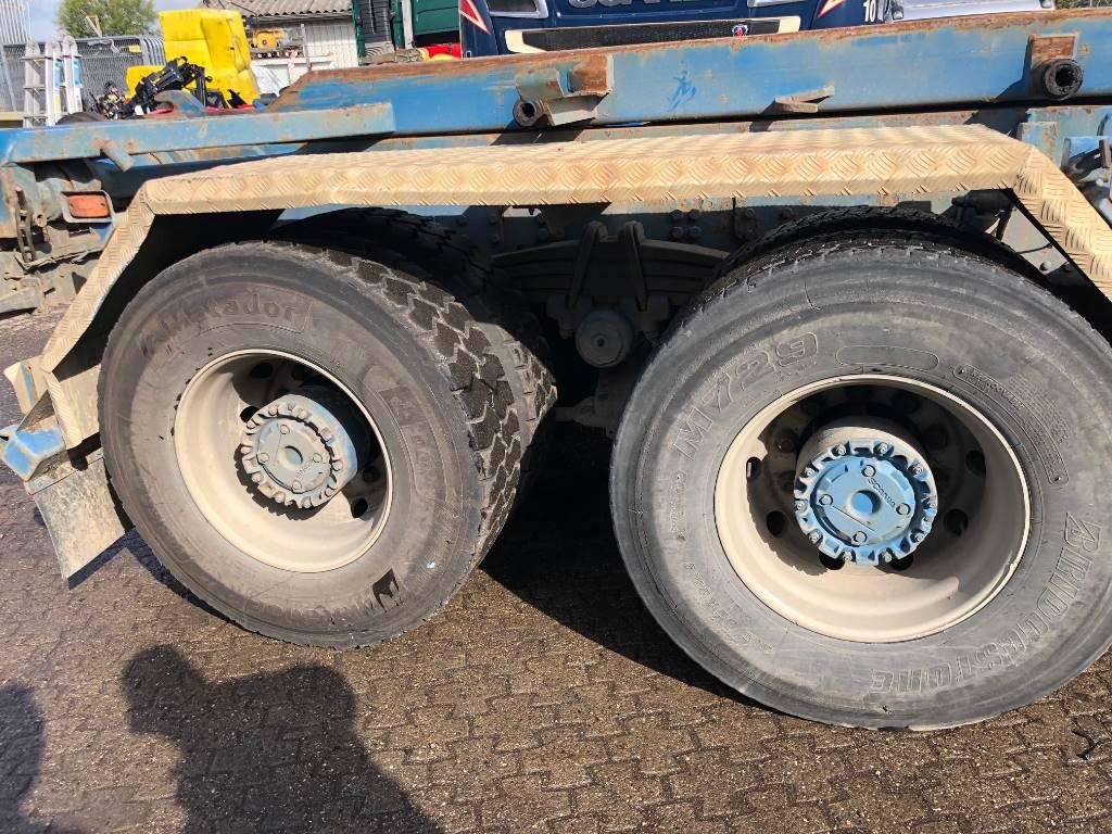 Scania RBP730 / RP730 - 3.68, Aksler, Transport