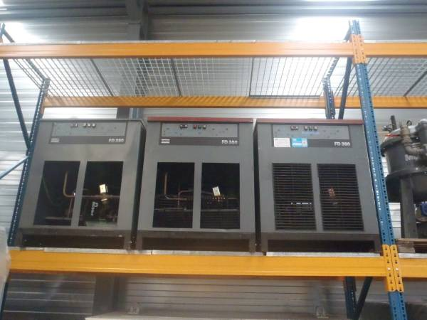 Atlas Copco FD 380 W, Compressed air dryers, Industrial