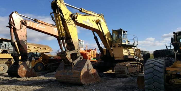 Komatsu PC1000  E184, Front Shovel Excavators, Construction Equipment