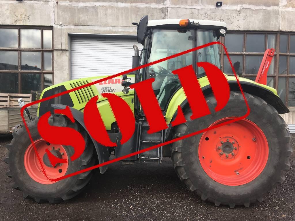 CLAAS Axion 820 Cmatic, Traktorid, Põllumajandus